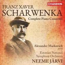 Xaver Scharwenka (1850-1924): Klavierkonzerte Nr.1-4, 2 CDs