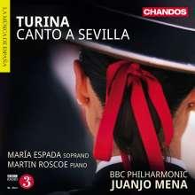 Joaquin Turina (1882-1949): Canto a Sevilla op.37, CD