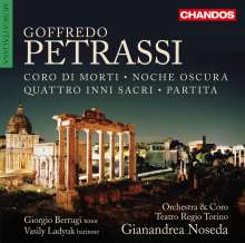 Goffredo Petrassi (1904-2003): Noche oscura (Kantate für gemischten Chor & Orchester), CD