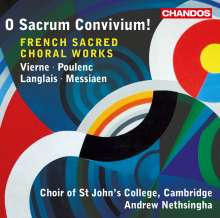 St.John's College Choir Cambridge - French Sacred Choral Works, CD
