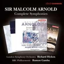Malcolm Arnold (1921-2006): Symphonien Nr.1-9, 4 CDs