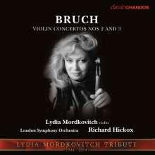 Max Bruch (1838-1920): Violinkonzerte Nr.2 & 3, CD