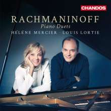 Sergej Rachmaninoff (1873-1943): Werke für 2 Klaviere, CD