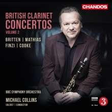 Michael Collins - British Clarinet Concertos Vol.2, CD