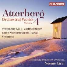 Kurt Atterberg (1887-1974): Orchesterwerke Vol.4, CD
