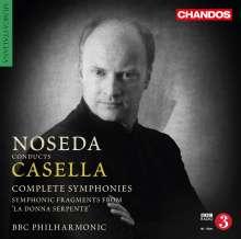 Alfredo Casella (1883-1947): Sämtliche Symphonien, 2 CDs