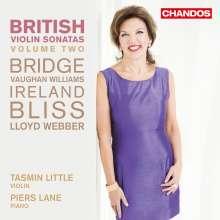 Tasmin Little & Piers Lane - British Violin Sonatas Vol.2, CD