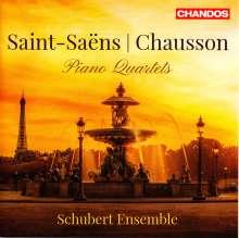 Camille Saint-Saens (1835-1921): Klavierquartett op.41, CD
