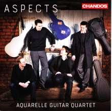 Aquarelle Guitar Quartet - Aspects, CD