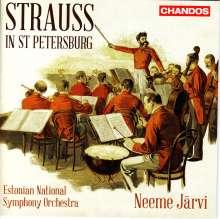 Johann Strauss Strauss in St. Petersburg, CD