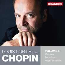 Louis Lortie plays Chopin Vol.5, CD