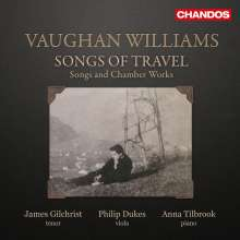 Ralph Vaughan Williams (1872-1958): Songs of Travel Nr.1-9, CD