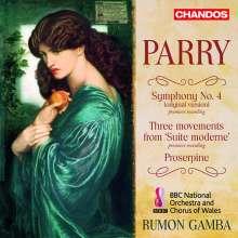 Hubert Parry (1848-1918): Symphonie Nr.4, CD