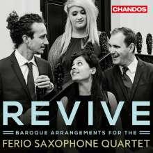 Ferio Saxophone Quartet - Revive, CD