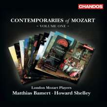Mozart Contemporaries - Box 1 (Exklusiv für jpc), 10 CDs
