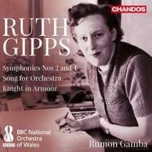 Ruth Gipps (1921-1999): Symphonien Nr.2 & 4, CD