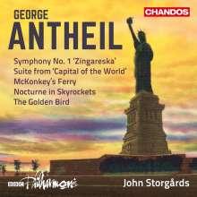 """George Antheil (1900-1959): Symphonie Nr. 1 """"Zingareska"""", CD"""