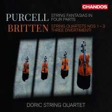 Benjamin Britten (1913-1976): Streichquartette Nr.1-3, 2 CDs