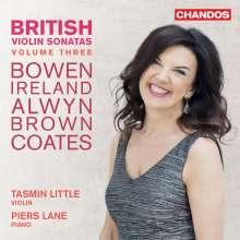 Tasmin Little & Piers Lane - British Violin Sonatas Vol.3, CD