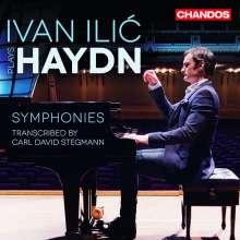 Joseph Haydn (1732-1809): Symphonien Nr.44,75,92 für Klavier solo, arrangiert von Carl David Stegmann (1751-1826), CD