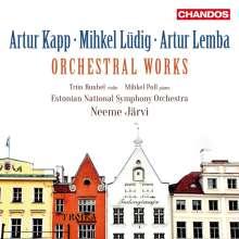 "Artur Kapp (1878-1952): Symphonie Nr.4 ""Youth Symphony"", CD"