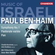 Paul Ben-Haim (1897-1984): Symphonie Nr.1, CD