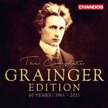 Percy Grainger (1882-1961): The Complete Grainger Edition (1961-2021), 21 CDs