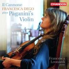 Francesca Dego plays Paganini's Violin - Il Cannone, CD