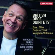 British Oboe Quintets, CD