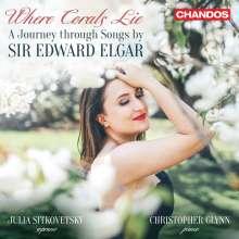 """Edward Elgar (1857-1934): Klavierlieder """"Where Corals Lie"""", CD"""