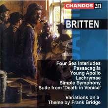 Benjamin Britten (1913-1976): Four Sea Interludes op.33a, 2 CDs