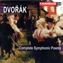 Antonin Dvorak (1841-1904): Symphonische Dichtungen (Ges.-Aufn.), 2 CDs