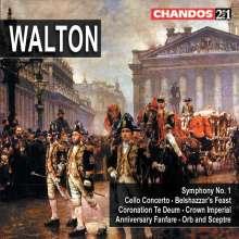 William Walton (1902-1983): Symphonie Nr.1, 2 CDs