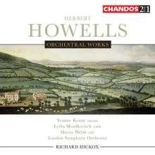 Herbert Howells (1892-1983): Orchesterwerke, 2 CDs