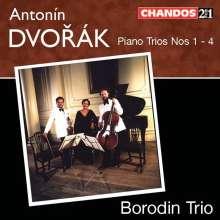 Antonin Dvorak (1841-1904): Klaviertrios Nr.1-4, 2 CDs