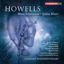 Herbert Howells (1892-1983): Missa Sabrinensis, 2 CDs