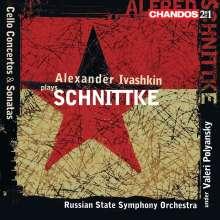 Alfred Schnittke (1934-1998): Cellokonzerte Nr.1 & 2, 2 CDs