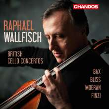 Raphael Wallfisch - British Cello Concertos, 2 CDs
