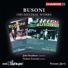 Ferruccio Busoni (1866-1924): Orchesterwerke, 2 CDs