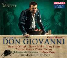 Wolfgang Amadeus Mozart (1756-1791): Don Giovanni (in engl.Spr.), 3 CDs