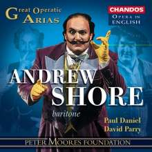 Andrew Shore - Great Operatic Arias in English, CD