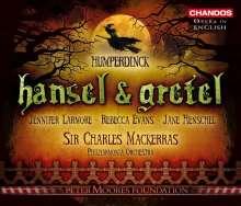 Engelbert Humperdinck (1854-1921): Hänsel & Gretel (in engl.Spr.), 2 CDs