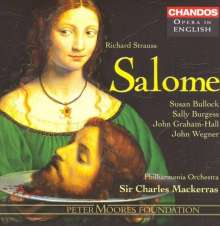 Richard Strauss (1864-1949): Salome (in engl.Spr.), 2 CDs