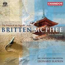 Benjamin Britten (1913-1976): The Prince of the Pagodas op.57 (Ballettsuite), Super Audio CD