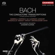 Johann Sebastian Bach (1685-1750): The Conductor's Transcriptions, SACD