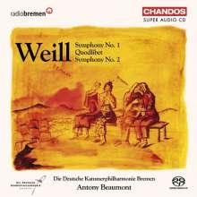 Kurt Weill (1900-1950): Symphonien Nr.1 & 2, SACD