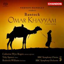 Granville Bantock (1868-1946): Omar Khayyam, 3 Super Audio CDs