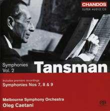 Alexandre Tansman (1897-1986): Symphonien Nr.7-9, SACD
