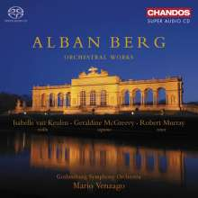 Alban Berg (1885-1935): Orchesterwerke, 2 SACDs