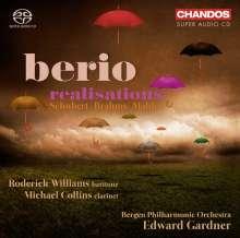 """Luciano Berio (1925-2003): Orchester-Transkriptionen - """"Berio Realisations"""", Super Audio CD"""